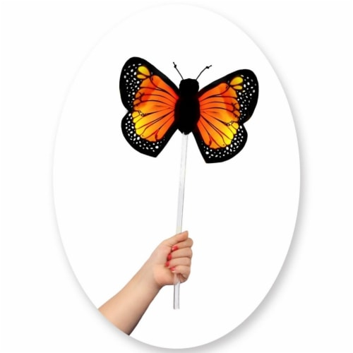 Princess 407678 Child Monarch Butterfly Wand - One Size Perspective: front