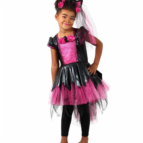 Princess 410363 Girls Dark Lady Unicorn Child Costume - Large Perspective: front