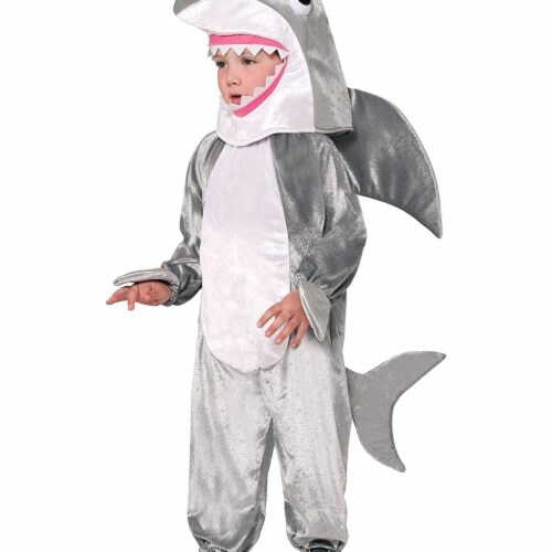 Princess Paradise 413910 Child Shredder the Shark Costume for Boys, Small Perspective: front