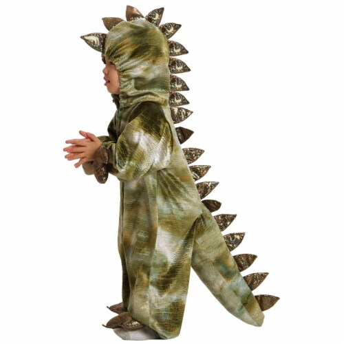 Princess Paradise 413931 Toddler Terrence the T-Rex Costume, 6-12 Month - NS2 Perspective: front