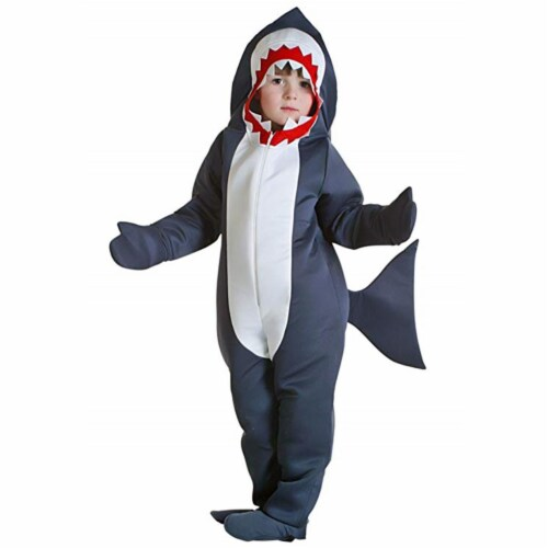 Princess Paradise 414028 Child Finn the Shark Costume for Boys, Small Perspective: front