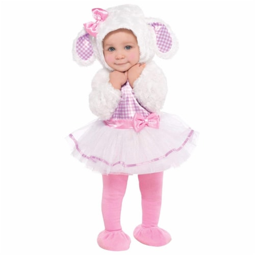 Princess Paradise 413946 Toddler Littlest Lamb Costume, 12-18 Month - Infant Perspective: front