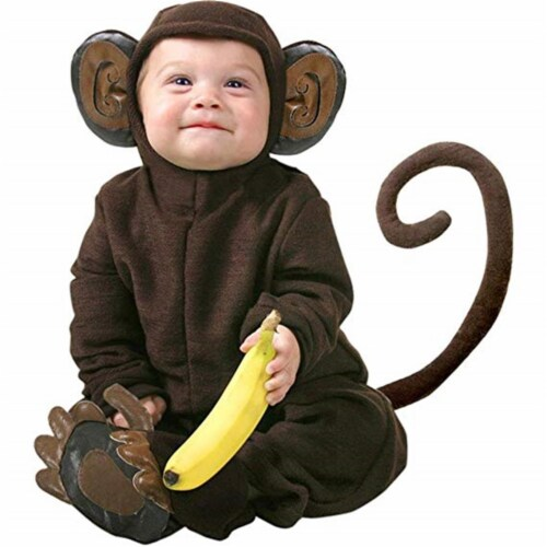Princess Paradise 414030 2 Toddler Littlest Monkey Costume for Boys, 18 Month Perspective: front