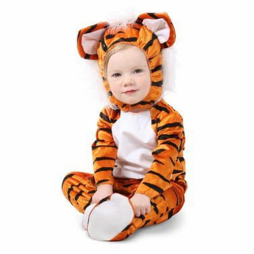 Princess Paradise 413919 Toddler Trevor the Tiger Costume, 6-12 Month - NS2 Perspective: front
