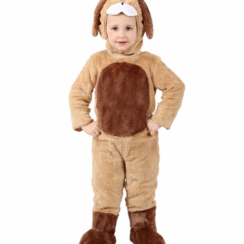 Princess Paradise 413949 Toddler Ben the Brown Puppy Costume, 6-12 Month - NS2 Perspective: front
