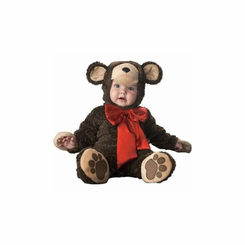Princess Paradise 413958 Infant Cuddly Teddy Bear Costume, 12-18 Month Perspective: front