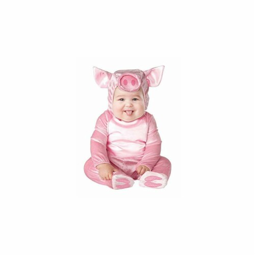 Princess Paradise 413924 Infant Littlest Piggy Costume, 12-18 Month Perspective: front