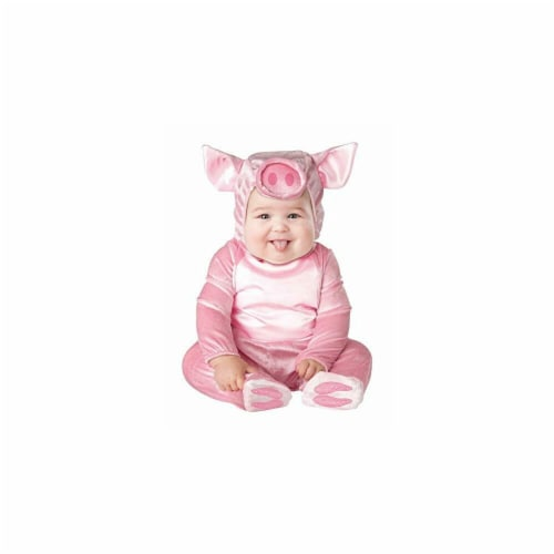 Princess Paradise 413923 Toddler Littlest Piggy Costume, 6-12 Month - NS2 Perspective: front