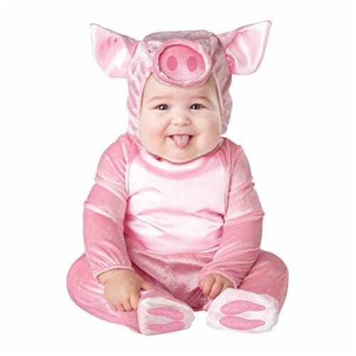 Princess Paradise 413922 Child Littlest Piggy Costume, Extra Small Perspective: front
