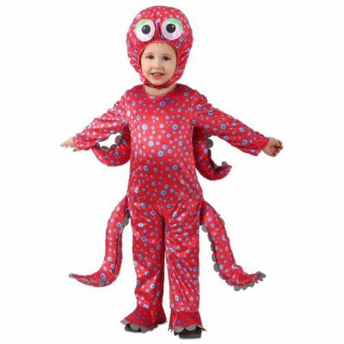 Princess Paradise 413933 2 Toddler Oliver the Octopus Costume for Boys, 18 Month Perspective: front