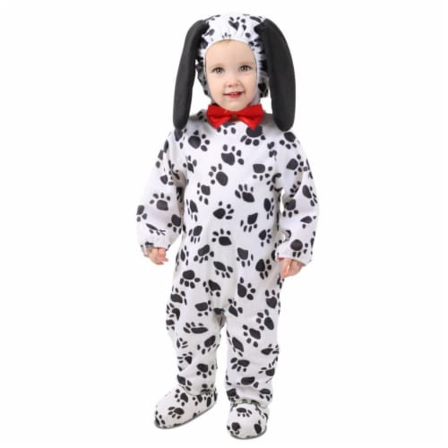 Princess Paradise 413973 Infant Dudley the Dalmation Costume, 12-18 Month Perspective: front
