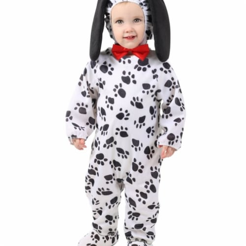 Princess Paradise 413971 2 Toddler Dudley the Dalmation Costume for Girls, 18 Month Perspective: front
