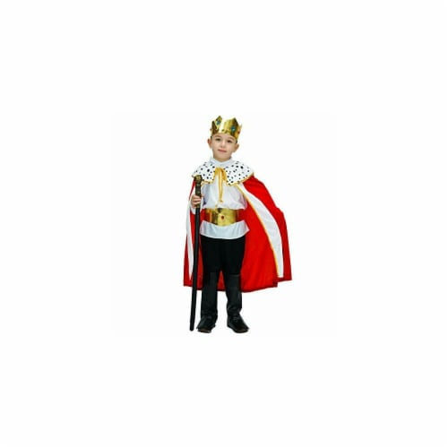 Princess Paradise 414041 2 Toddler Regaly Royalty King Costume, 18 Month Perspective: front