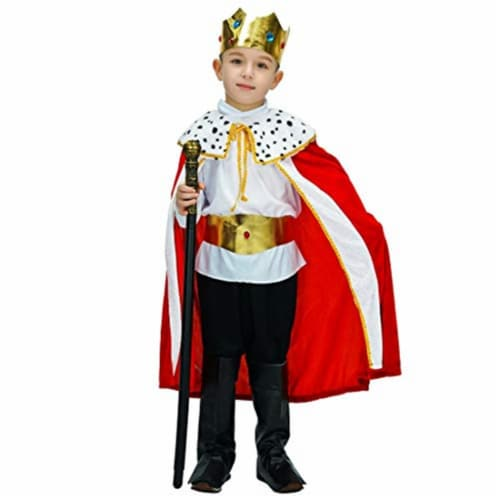 Princess Paradise 414043 Toddler Regaly Royalty King Costume, 6-12 Month - NS2 Perspective: front