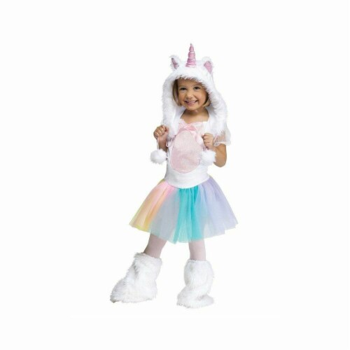 Princess Paradise 413938 Child Elody the Enchanted Unicorn Costume, Extra Small Perspective: front