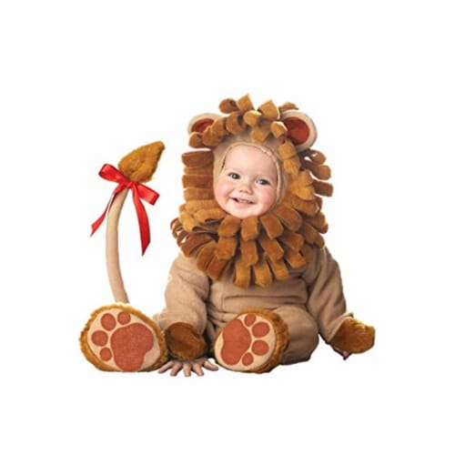 Princess Paradise 413980 Toddler Littlest Lion Costume, 6-12 Month - NS2 Perspective: front