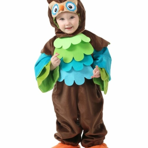 Princess Paradise 413986 Toddler Hoots the Owl Costume, 6-12 Month - NS2 Perspective: front
