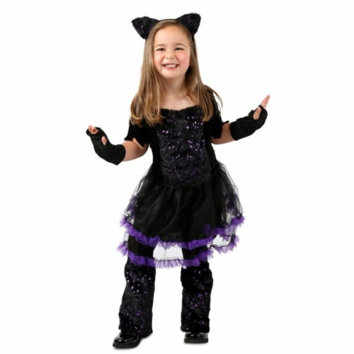 Princess Paradise 413995 Child Cat-itude Costume for Girls, Large Perspective: front