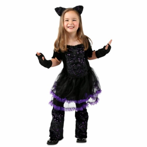 Princess Paradise 413994 Child Cat-itude Costume for Girls, Medium Perspective: front