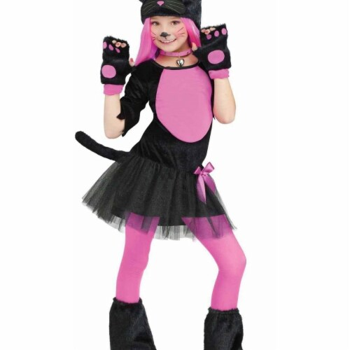 Princess Paradise 414001 Child Missy Kitty Costume for Girls, Large Perspective: front