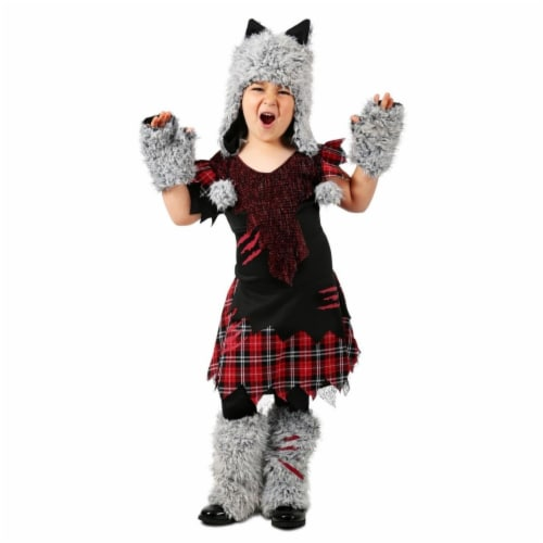 Princess Paradise 414005 Child Wicked Werewolf Costume for Girls, Small Perspective: front