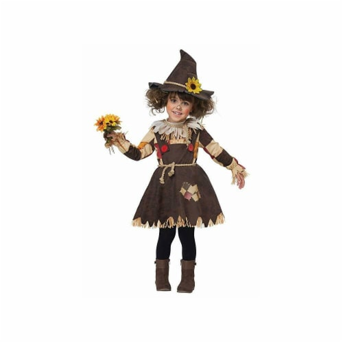 Princess Paradise 414015 Child Patches the Scarecrow Costume for Girls, Small Perspective: front