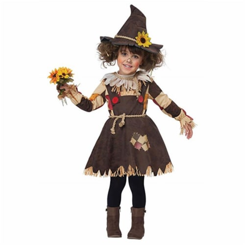 Princess Paradise 414014 Child Patches the Scarecrow Costume for Girls, Extra Small Perspective: front