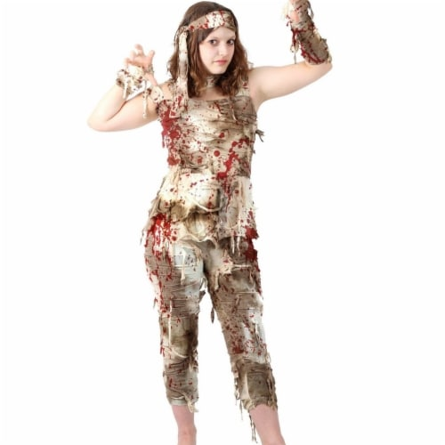 Princess Paradise 414024 Child Mystifying Mummy Costume, Twin Size 6-8 - Medium Perspective: front