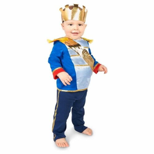 Princess Paradise 414049 Toddler Charming Prince Costume, 6-12 Month - NS2 Perspective: front