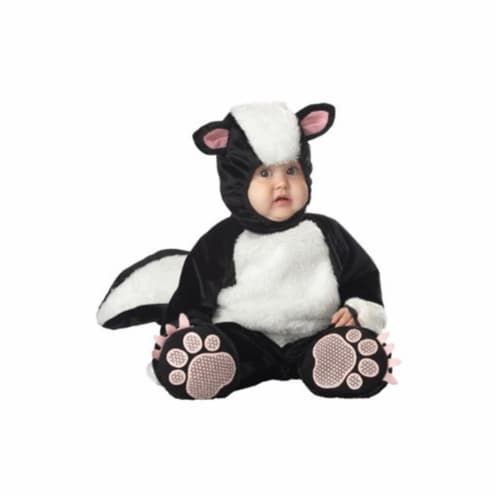 Princess Paradise 413969 Toddler Stinker the Skunk Costume, 6-12 Month - NS2 Perspective: front