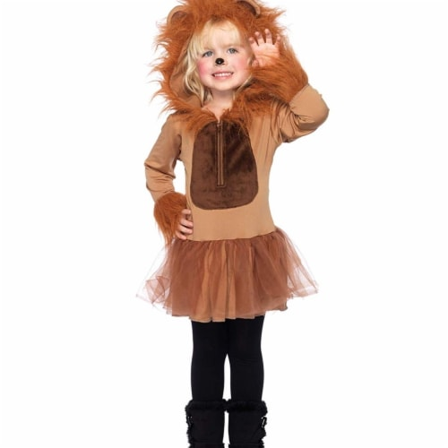 Princess Paradise 414059 Child Cuddly Little Lion Costume for Boys, Medium Perspective: front