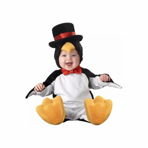 Princess Paradise 414067 Toddler Littlest Penguin Costume, 12-18 Month - Infant Perspective: front