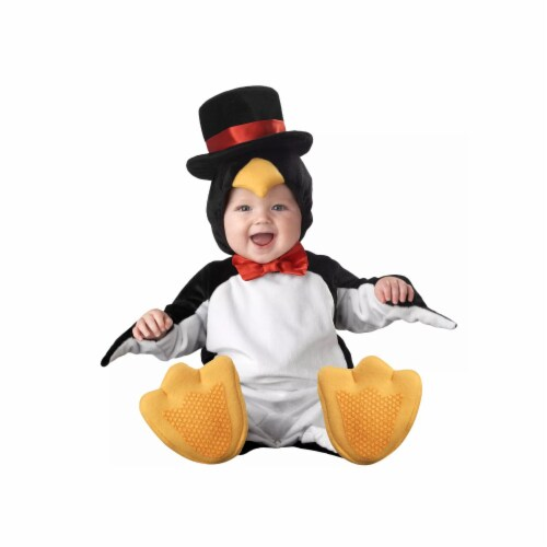 Princess Paradise 414066 Toddler Littlest Penguin Costume, 6-12 Month - NS2 Perspective: front