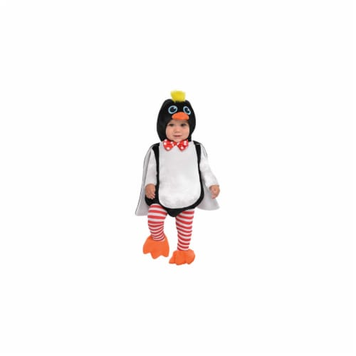 Princess Paradise 414065 Child Littlest Penguin Costume for Boys, Extra Small Perspective: front