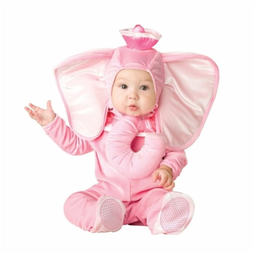 Princess Paradise 414071 Toddler Elle the Pink Elephant Costume, 12-18 Month - Infant Perspective: front