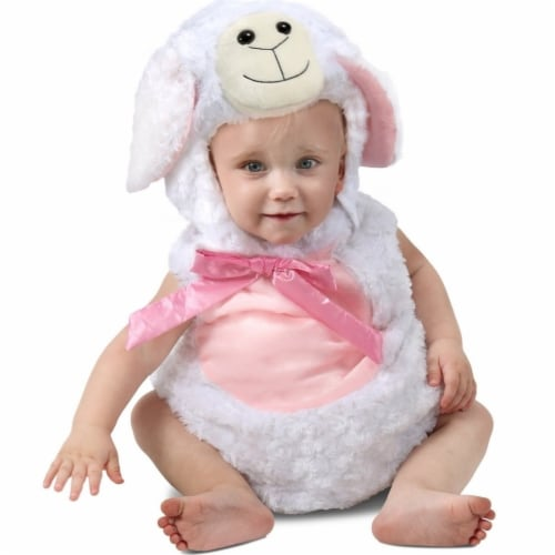 Princess Paradise 414072 Toddler Sweetie Lamb Costume for Girls, 6-12 Month - NS2 Perspective: front