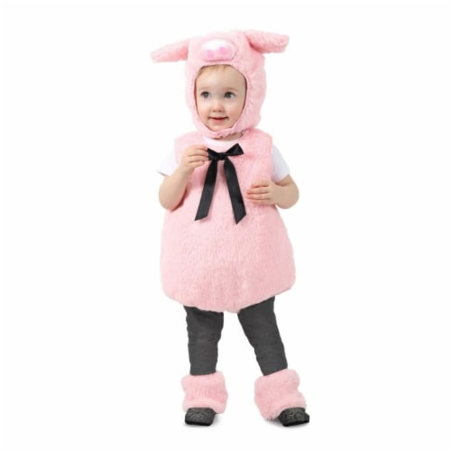 Princess Paradise 413913 Toddler Pip the Piglet Costume for Girls, 6-12 Month - NS2 Perspective: front