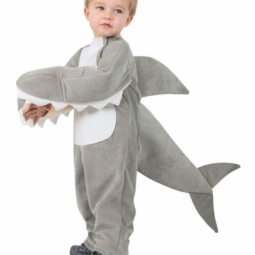 Princess Paradise 414262 Child Chompin Baby Shark Costume with Sound Chip Perspective: front