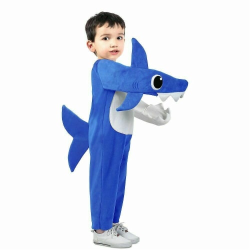 Princess Paradise 414266 Child Chompin Daddy Shark Costume with Sound Chip Perspective: front