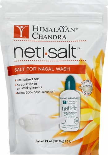 Himalayan Institute Neti Salt Eco Refill Perspective: front