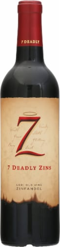 Michael David The Seven Deadly Zins Zinfandel Red Wine Perspective: front