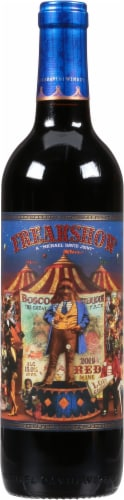 Freakshow Red Blend Wine Perspective: front