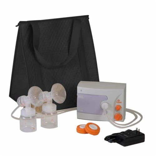Hygeia Ii Medical Group HG100275 Q Breast Pump with Deluxe Tote Perspective: front