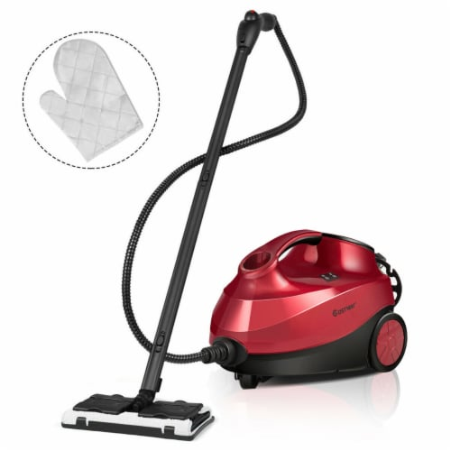 Costway 2000W Heavy Duty Steam Cleaner Mop Multi-Purpose W/19 Accessories 4.0 Bar 1.5L Perspective: front