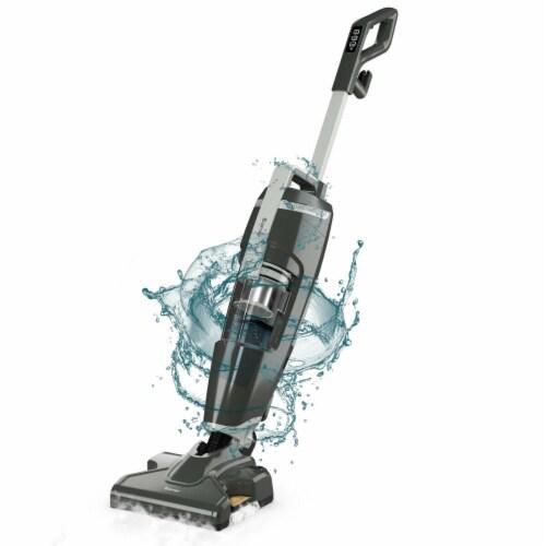 Costway Lightweight Upright Vacuum Cleaner Steam Mop Wet-Dry Vacuum Perspective: front