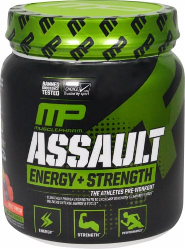 MusclePharm  Assault Sport™   Fruit Punch Perspective: front
