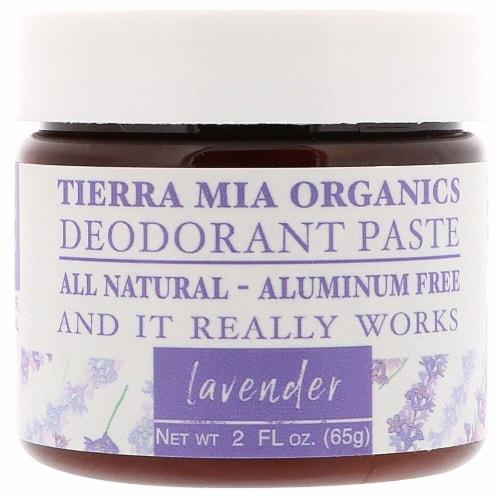 Tierra Mia Organics  Deodorant Paste Lavender Perspective: front