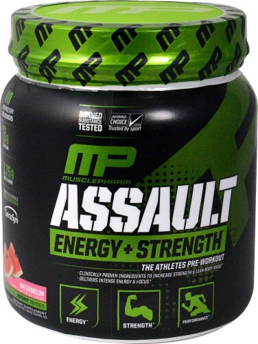 MusclePharm  Assault Sport™   Watermelon Perspective: front
