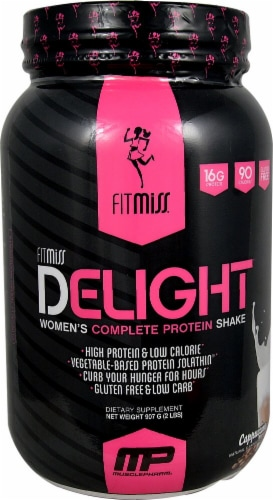 FitMiss  Delight® Women's Complete Protein Shake   Cappuccino Perspective: front