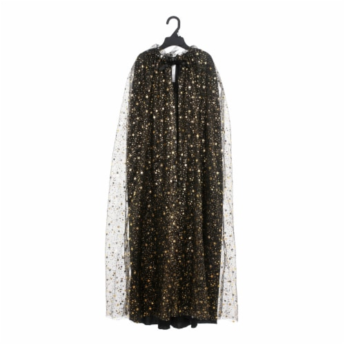 Seasons Youth Gold Celestial Witch Cape Perspective: front